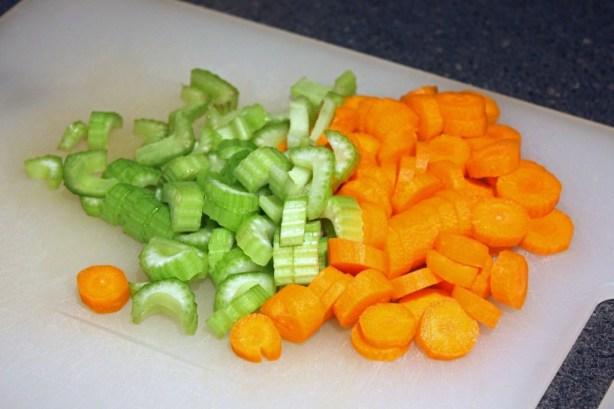 Celery & Carrots
