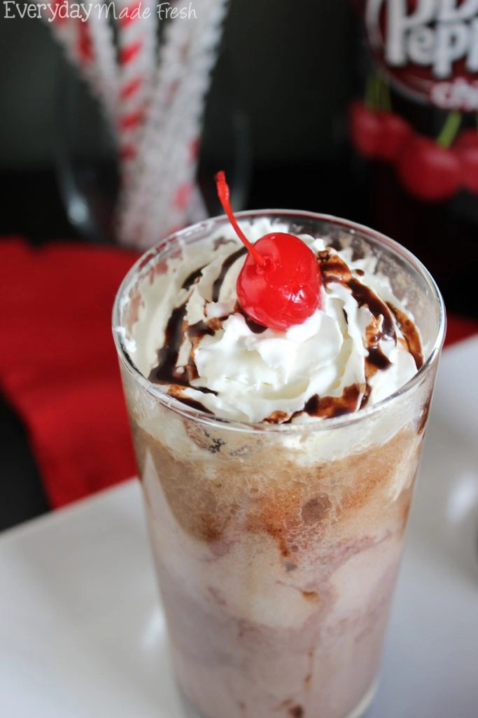 How to Make Dr. Pepper Ice Cream photo