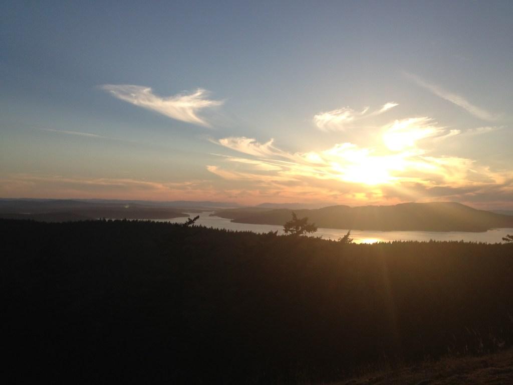 Sunset from Blakely Peak