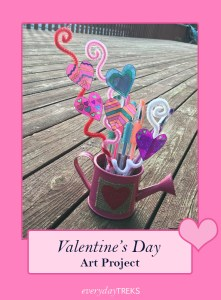 Easy Valentine's Day Art Project