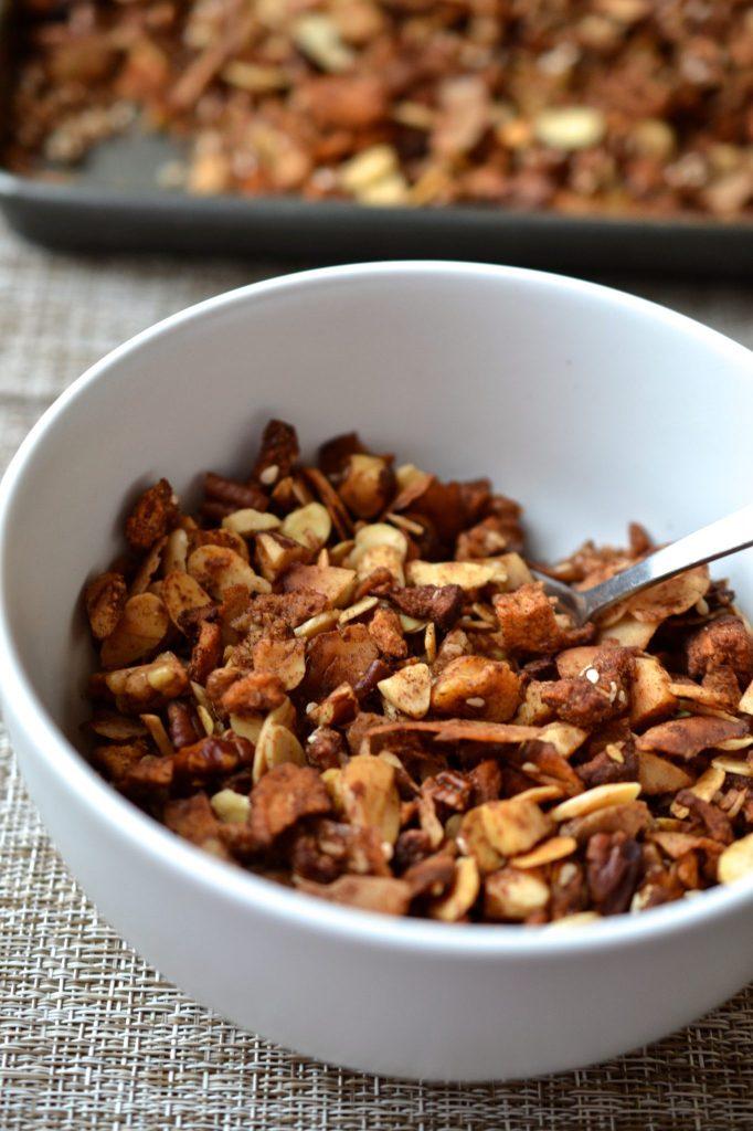 Apple Cinnamon Granola | Every Last Bite
