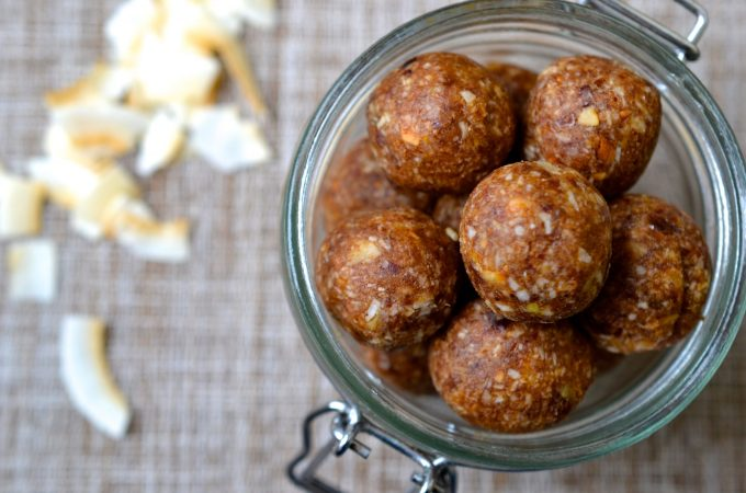 Coconut & Ginger Energy Balls