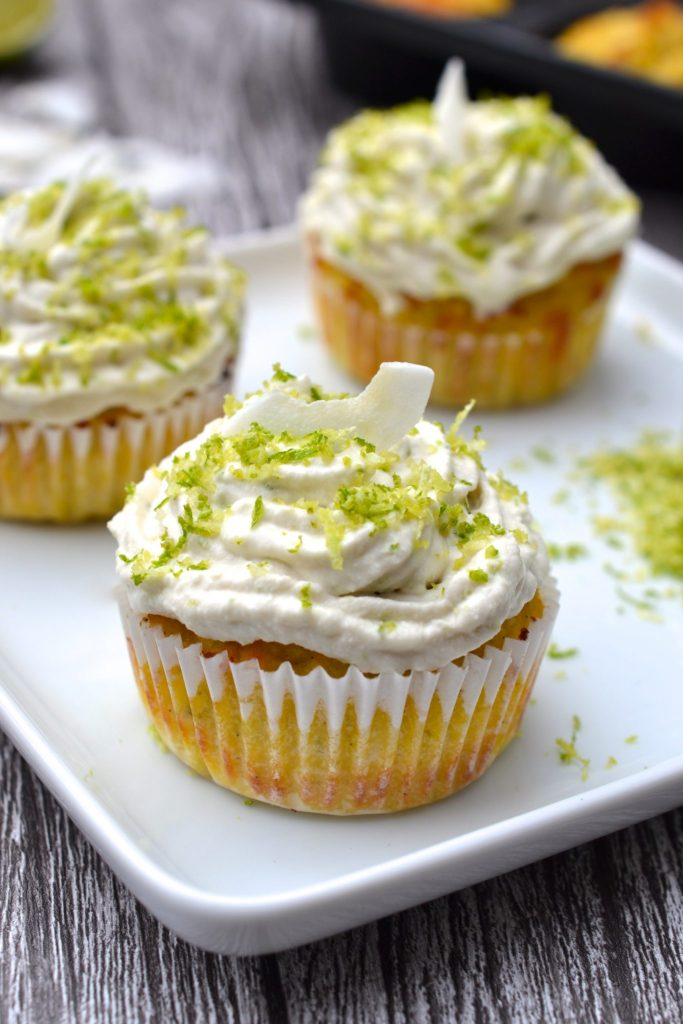 ... lime zest. I like to think of this as a cupcake flavour for grown ups