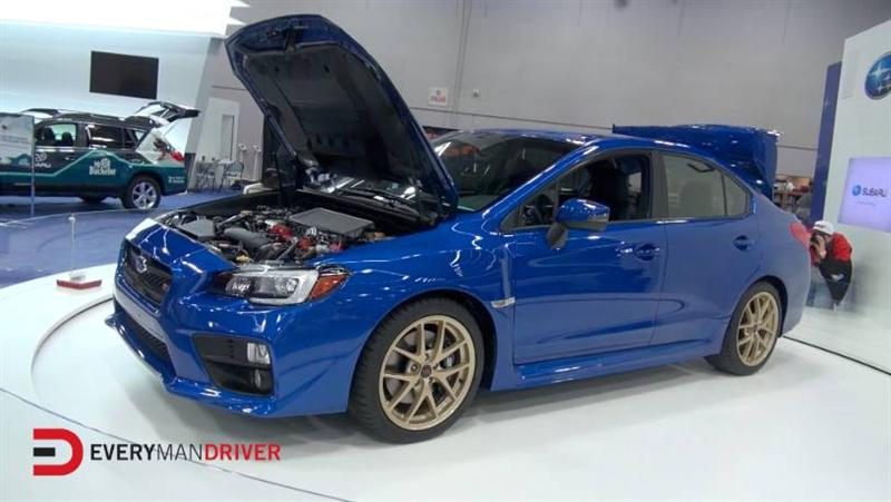 first look 2015 subaru wrx sti launch edition at portland. Black Bedroom Furniture Sets. Home Design Ideas