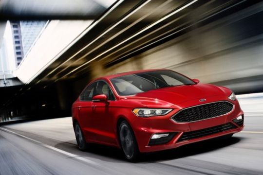2017 Ford Fusion on Everyman Driver