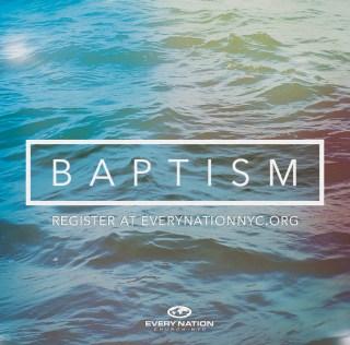 2016 Water Baptism