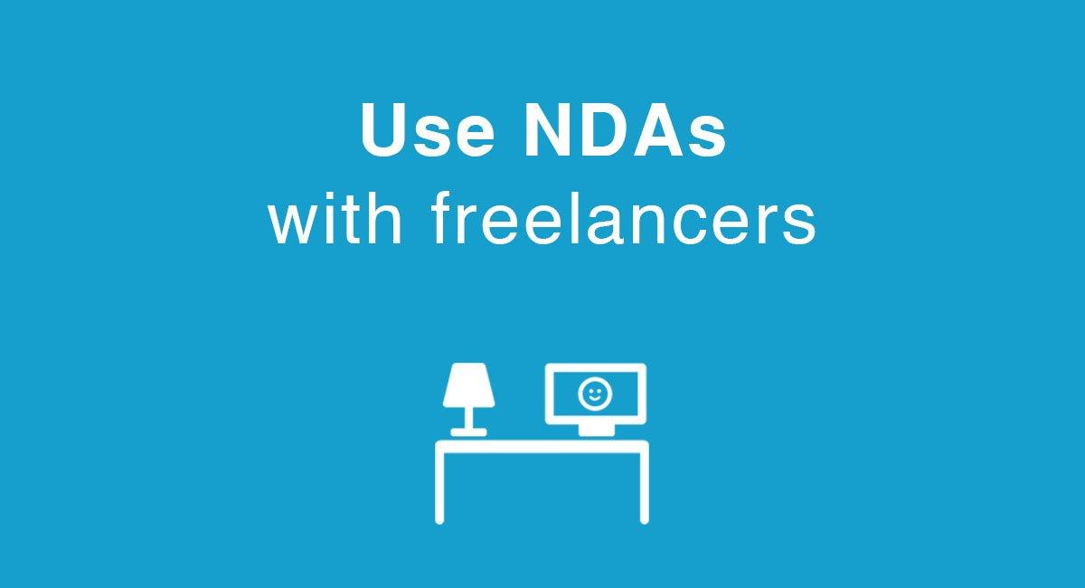 Use NDAs with freelancers - EveryNDA
