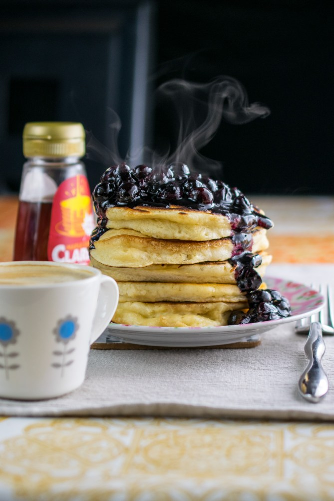 Thick Puffy Pancakes-4