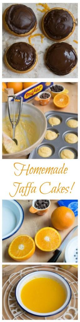Homemade Jaffa Cakes
