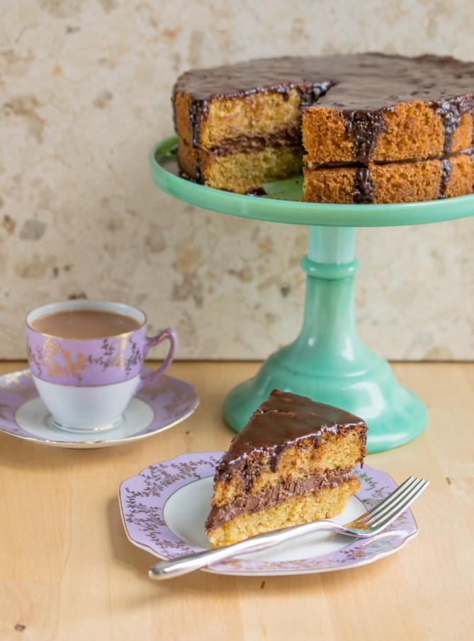Hazelnut Celebration Cake-11