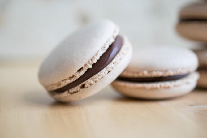 Chocolate Macarons-3
