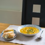 Slow Cooker Carrot & Coriander Soup