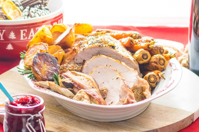Stuffed Roast Turkey Breast - Every Nook & Cranny