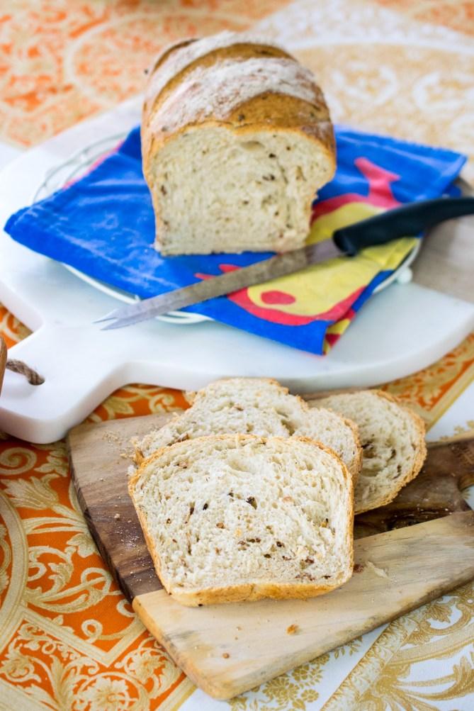Lightly Malted Sandwich Loaf-4