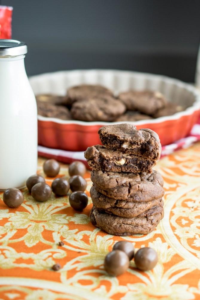 Malteaser Cookies-8