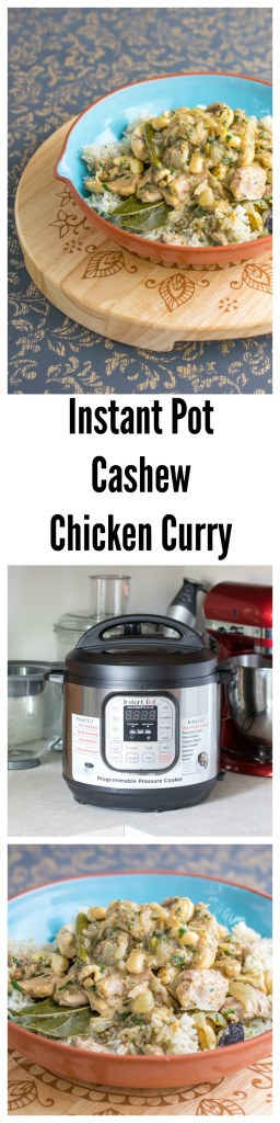 instant pot cashew chicken curry