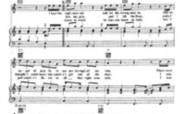 Amazing Aerosmith Free Piano Sheet Music Piano Chords