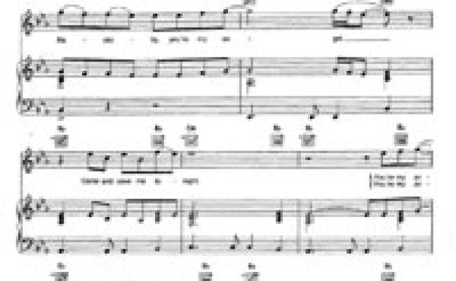 Angel Aerosmith Free Piano Sheet Music Piano Chords