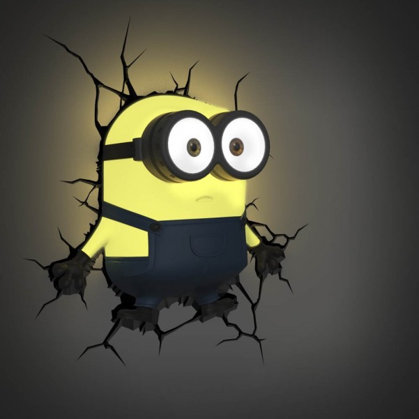 Cool Wall Lights minions 3d decal wall light | cool stuff to buy online from