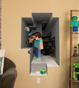 Minecraft Style 3D Decal