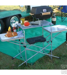 Lightweight Camping Grill Table