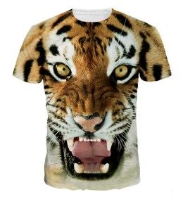 The Jiayiqi Tiger 3D Printed Tshirt