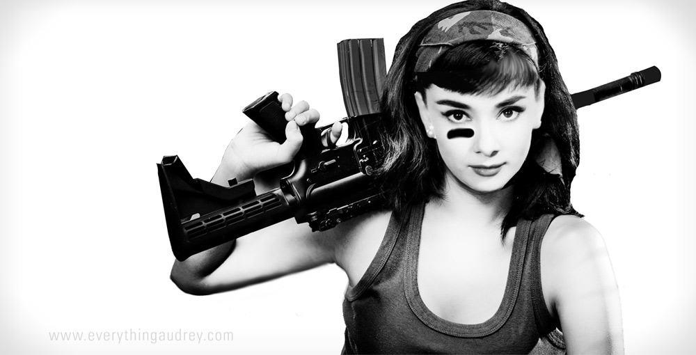 Funny Girl Wallpaper Quotes Audrey Hepburn World War 2 Badass