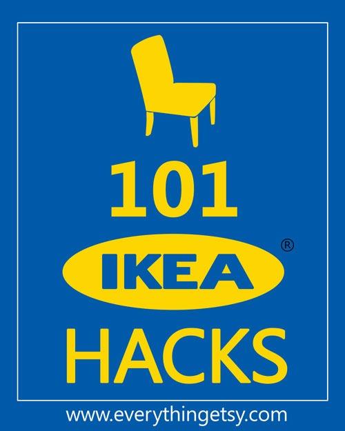 101 Ikea Hacks - EverythingEtsy