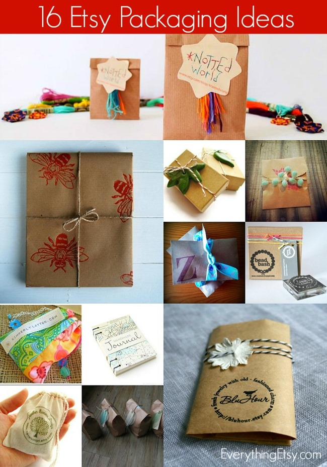 16 Packaging Ideas for Etsy Sellers - EverythingEtsy - creative packaging ideas