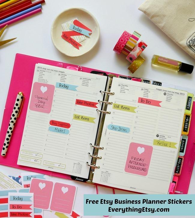 16 Free Planner Printables - EverythingEtsy