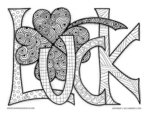 st patricks day coloring sheet - Akbagreenw - saint patrick day coloring