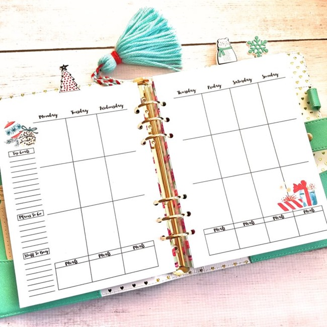 Christmas Planner Printables  Planner Stickers {Free