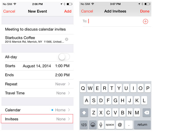How to accept or send a calendar invite on iPhone or iPad