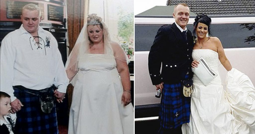 Couple Has A Second Wedding After Extreme Weight Loss
