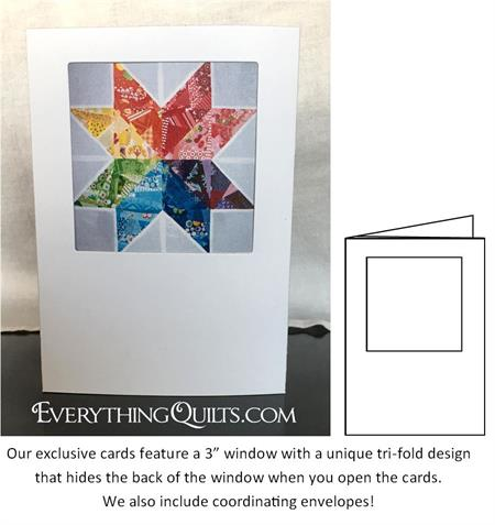 Keepsake-Frame-Note-Cards at Everything Quilts