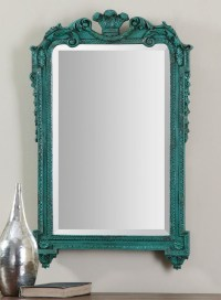 Uttermost Andreina Turquoise Mirror | Everything Turquoise