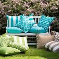 Coral Coast Lakeside Outdoor Throw Pillows  Set of 2 ...