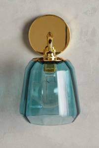 Dark Turquoise Salmar Sconce | Everything Turquoise