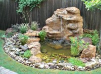 Large Pond Waterfalls Kits, Koi Ponds & Backyard Waterfalls