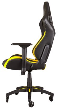 Corsair T1 Race Gaming Chair Black & Yellow - South Africa