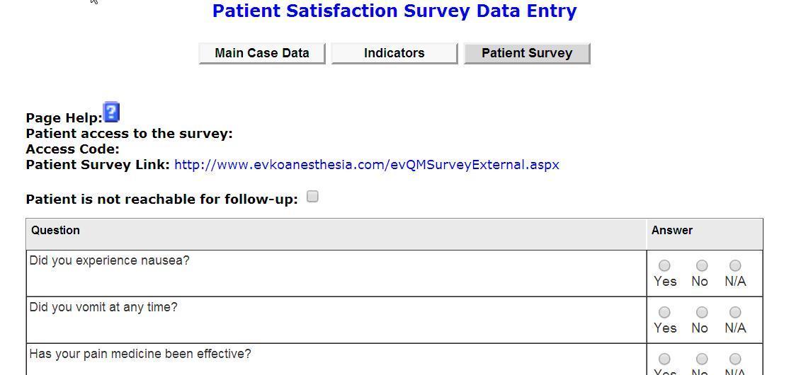 EVKO - Satisfaction Survey - Patient Satisfaction Survey Template