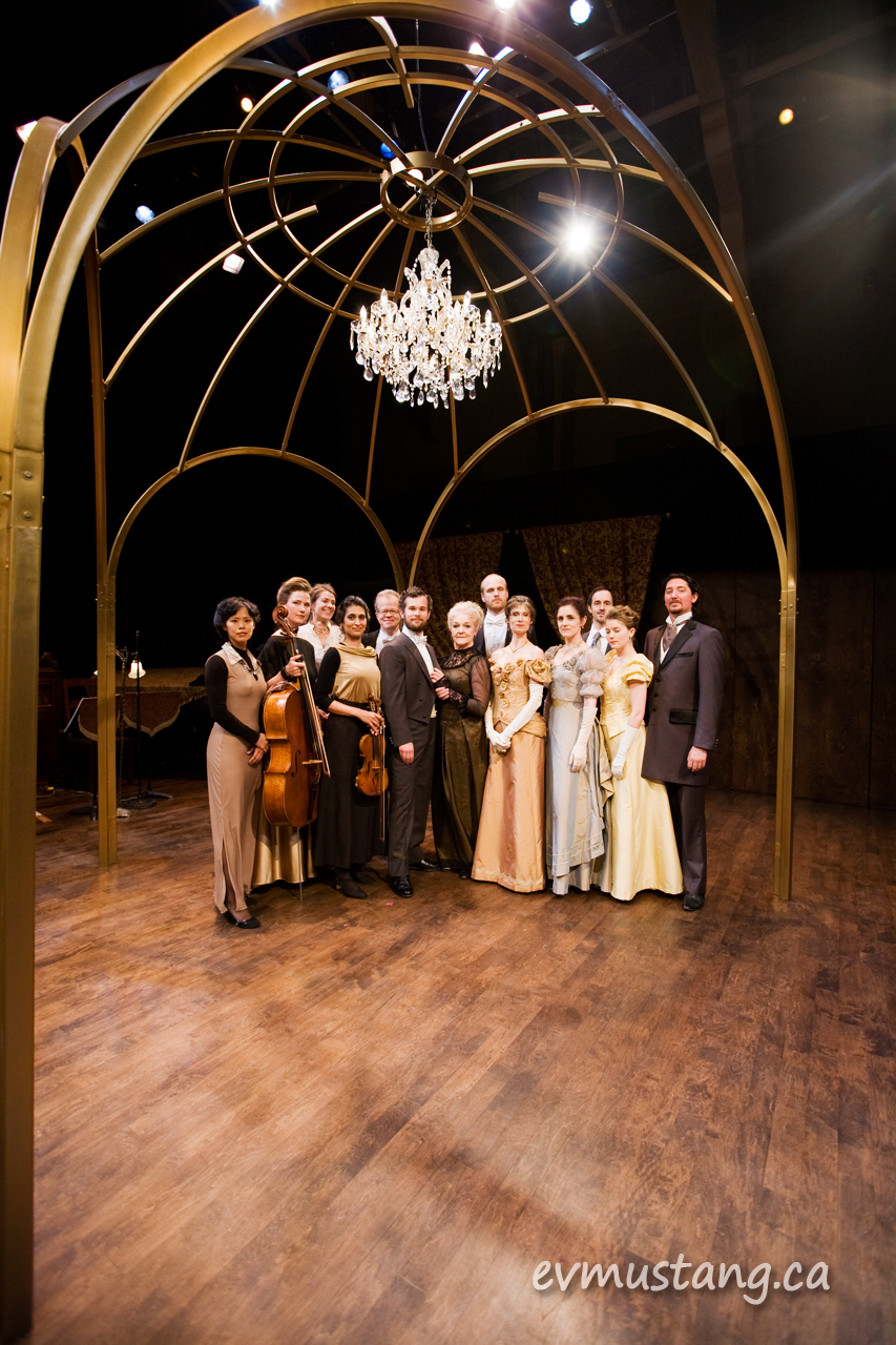 image of cast and choreographer of From the House of Mirth