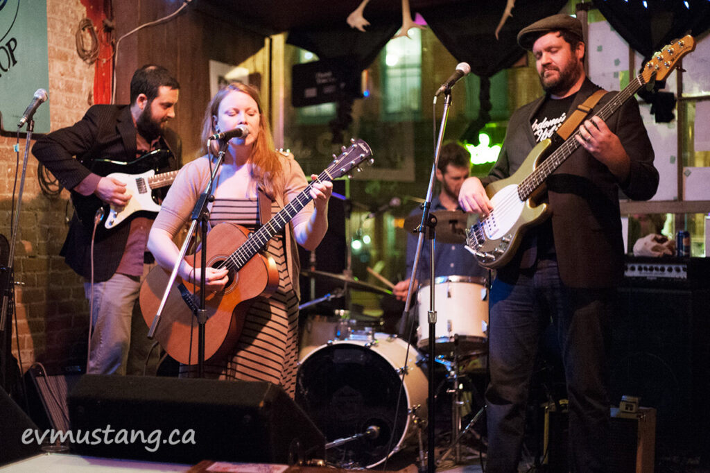 image of the donefors playing at the spill, peterborough
