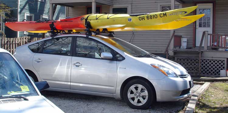 How To Choose The Right Kayak Roof Rack Go Kayak Now
