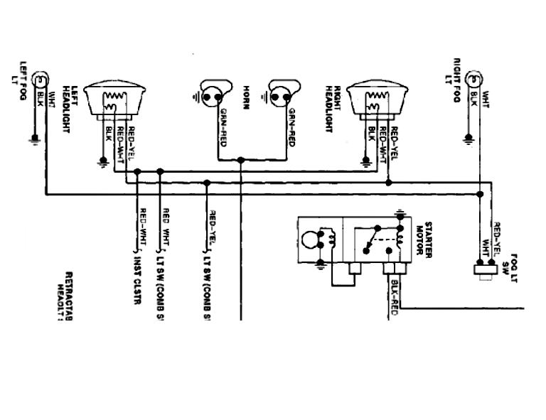 hid light wiring diagram for motorcycle