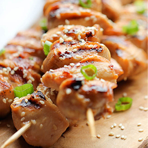 Evo Recipe Chicken Teriyaki Kabobs