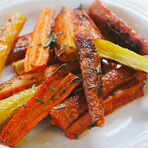 Evo Recipe Honey Glazed Carrots