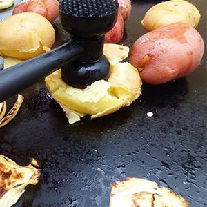 Evo Recipe Smashed Potatoes