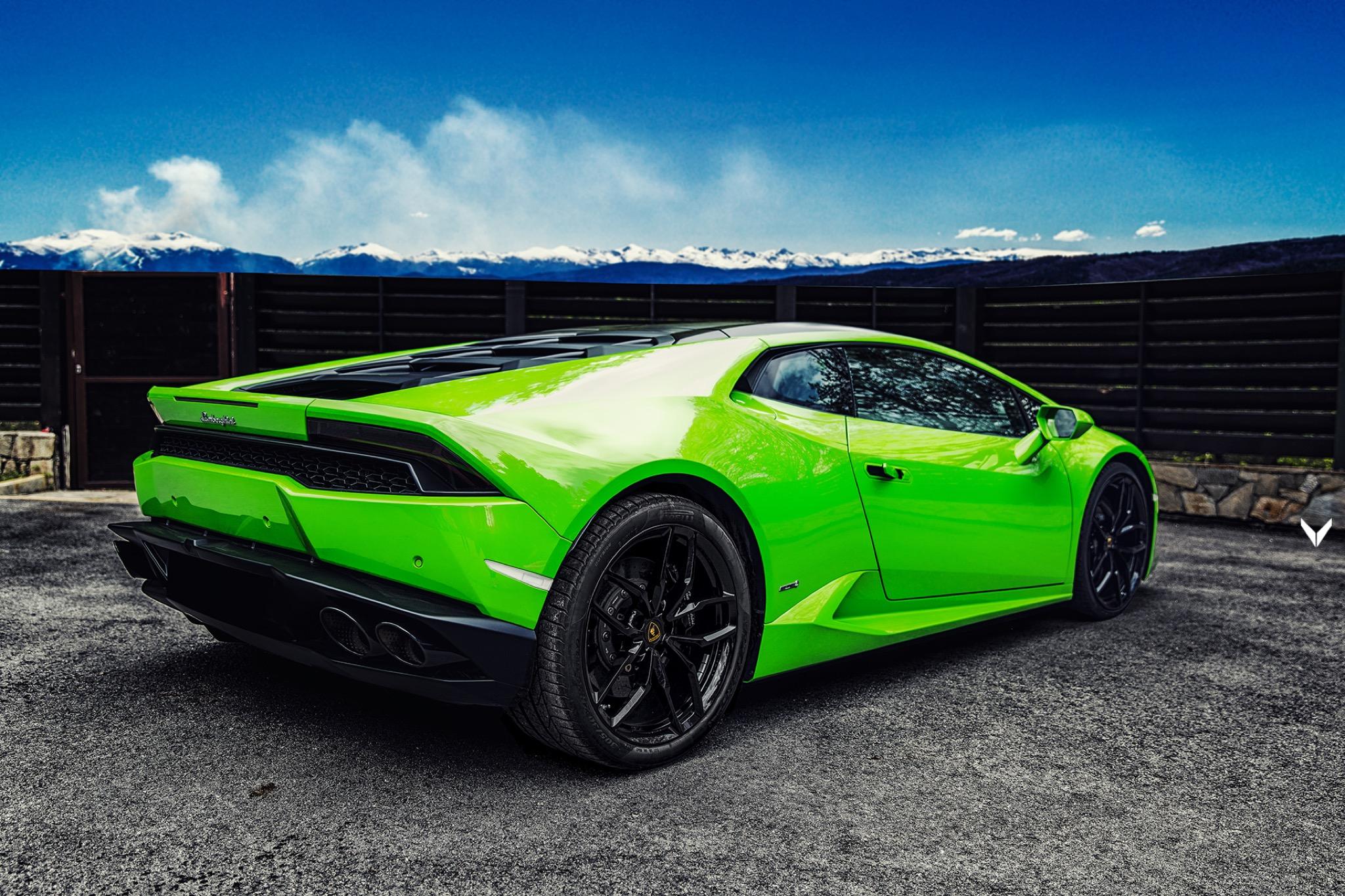 Car Black And Green Wallpaper Alles Auf Gr 252 N Lamborghini Hurac 225 N Von Vilner