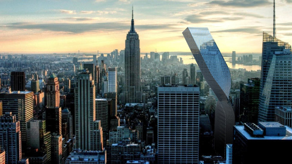Create Own Name 3d Wallpaper Flex Towers Twists To Capture Nyc Sunlight Evolo